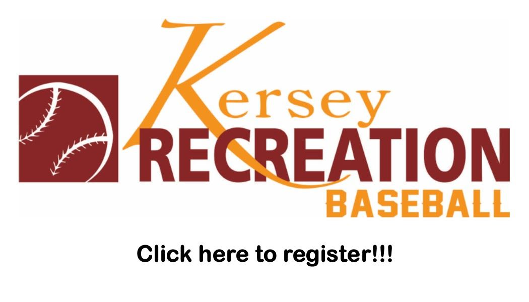 Baseball Registration Button