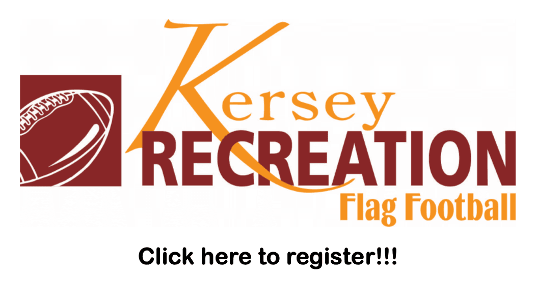 Flag Football Registration Button